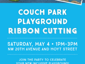 Community Invited to Ribbon Cutting Celebration for Couch Park