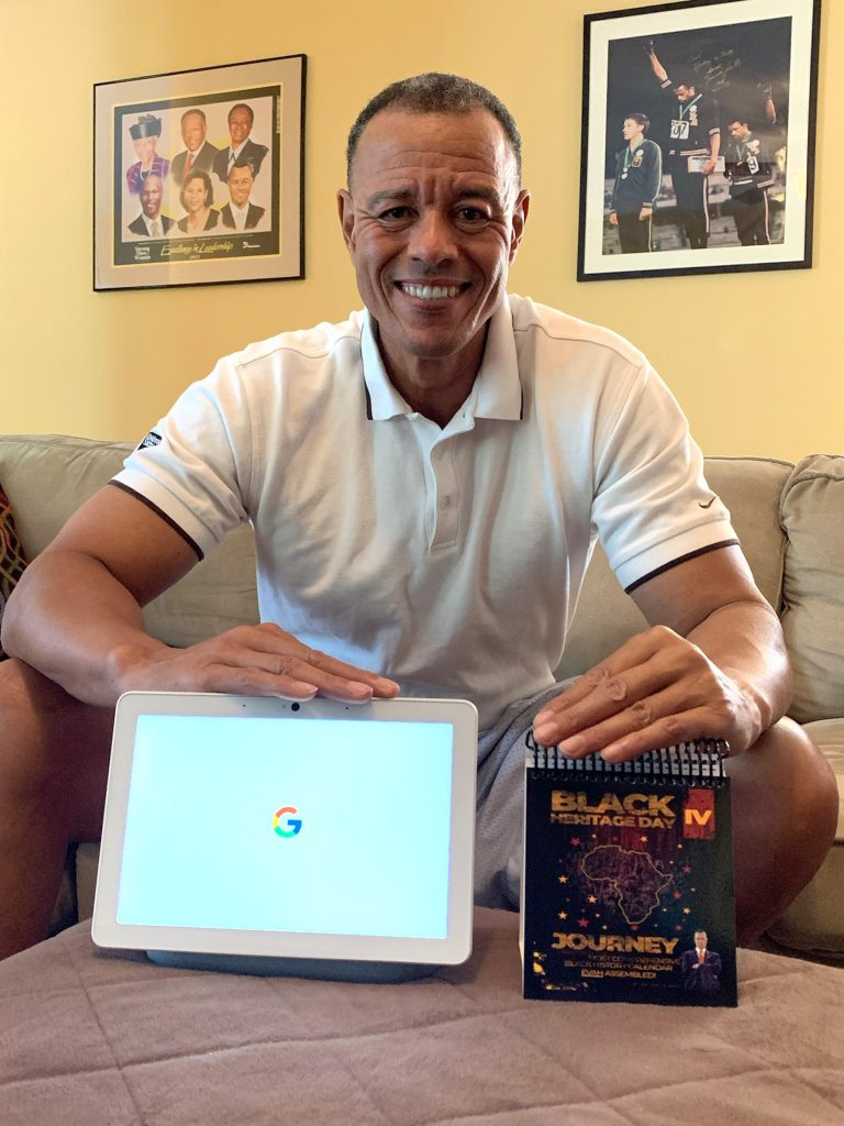 Through a new partnership with Google, daily excerpts drafted from Dr. Carl Mack's Black Heritage Day calendar can now be heard through Google Assistant. Mack, pictured above, released version four of his calendar last year.